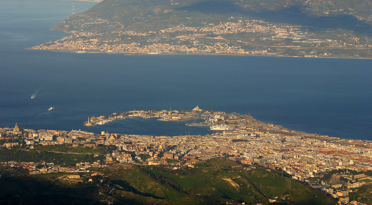 Messina and its surroundings