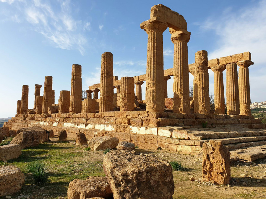 Valley of the Temples in Agrigento and Archaeological Site of Eraclea Minoa