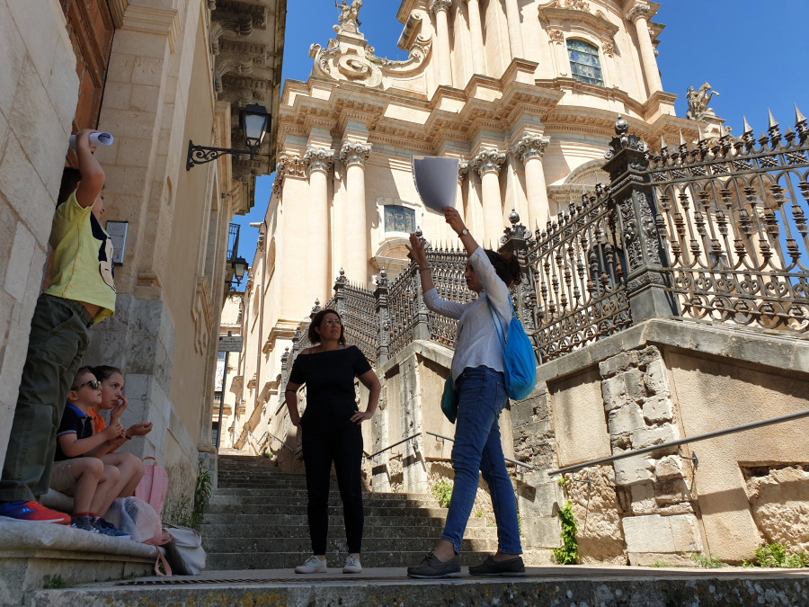 Ragusa treasure hunt for kids: looking for Saint George!
