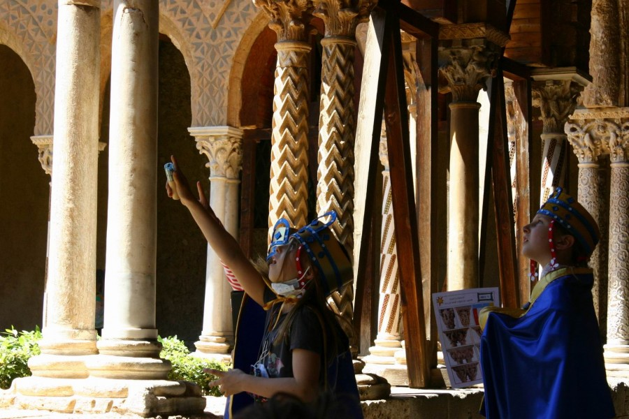 Monreale for kids: all the secrets of the mosaic!